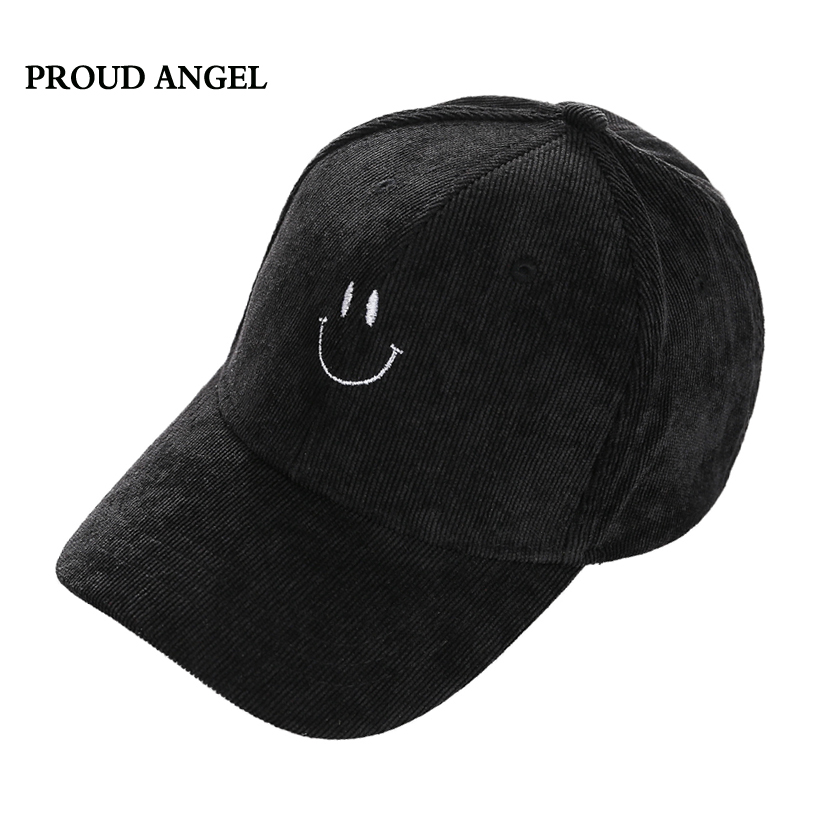 High Quality Lovely Smile Baseball Caps Fashion Snapback Cap For Men Women Casquette Bone Hip Hop Hat Dad Hat Gorras Para Hombre new embroidery bear lovely winter baseball cap hip hop men women unisex snap back hip hop hat caps gorras planas hombres mujer