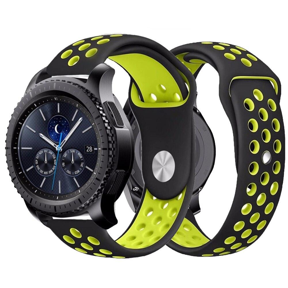 20/22mm Band For Samsung Galaxy Watch Active 2 46mm 42mm Gear S3 Frontier Sport S2 Huawei Watch GT 2 Strap 22mm Watch Bracelet