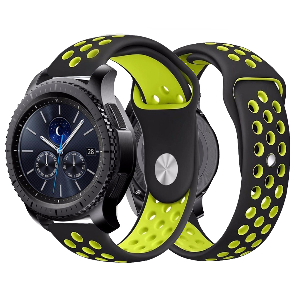 Gear S3 For Samsung Galaxy Watch 46mm Active 42mm Gear S 3 Frontier Sport S2 Huawei Watch GT Strap 22mm Watch Band Bracelet 46mm