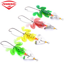 90mm/6g Rubber Soft Frog bait Fishing Lure Top-water Wobbler spinnerbait Fishing Tackle Isca Artificial Silicone Jig Bass Bait 1pcs soft rubber frog fishing lure bass crankbait 3d eye simulation frog spinner spoon bait 8cm 6g fishing tackle accessories