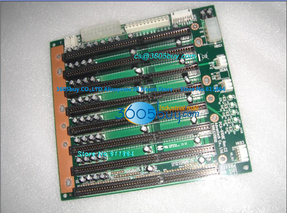 PCA-6108E Rev.C2 100% tested perfect quality 8 ISA Slots 8 Slot Industrial Control Machine Motherboard