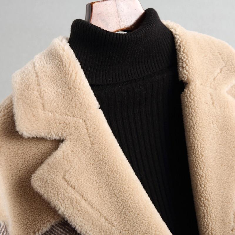 Tops Haute Tranchée Lx2090 Casaco Feminino 2018 Manteau Nouvelle Chaude Longue Picture Outwear Femmes Qualité De 100 Color Pour Ayunsue Laine Mode 4dUZxqZc