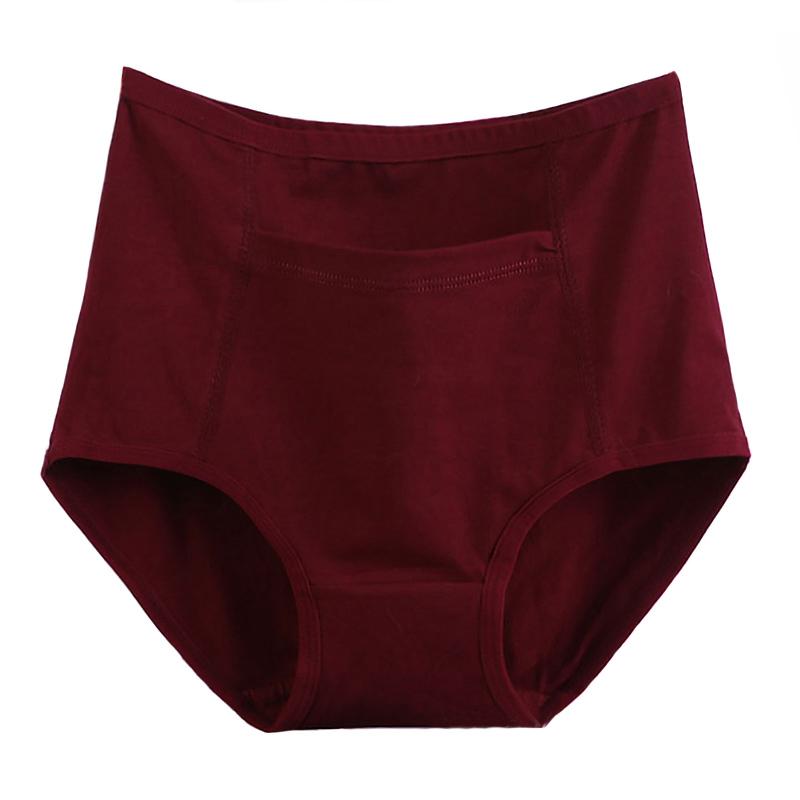 Pack de 3 culottes avec poche en coton grande taille femme.5