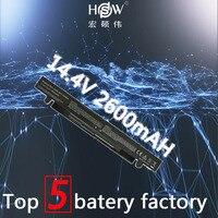 HSW 4Cells Laptop Battery For Asus R409V R510C R510D R510E R510L R510V X450C X450C X450L X450V X452C X452E X550C X550CA bateria