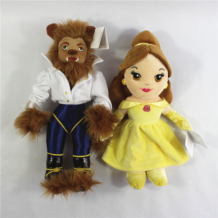 Free shipping original hot movie Beauty and the Beast Princess Belle Stuffed Soft plush doll font
