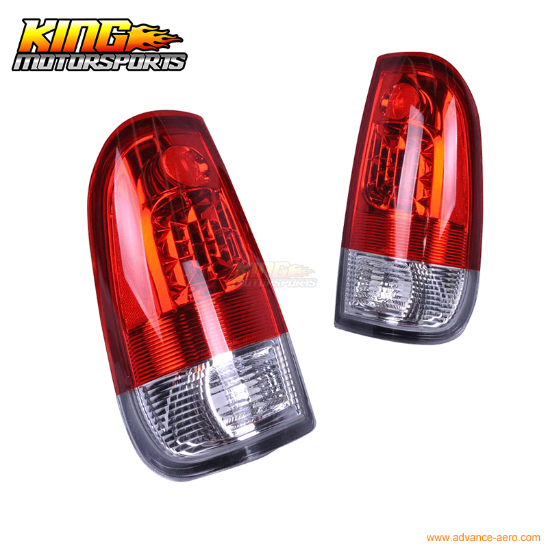 For 1997-2003 Ford F-150 LED Tail Lights Red Clear Styleside USA Domestic Free Shipping for 2003 2005 honda accord 2dr led tail lights black 2004 usa domestic free shipping