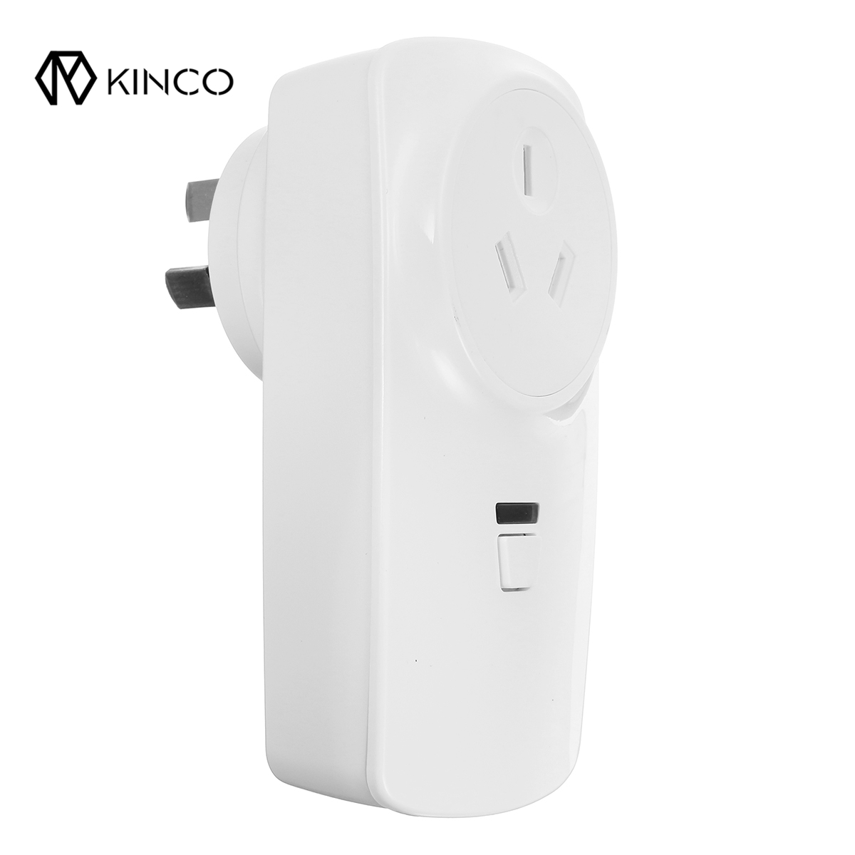 KINCO AC 85-265V 16A White Wifi Connection Smart AU Plug Power Socket Outlet Timer APP Remote Control For ALEXA GOOGL kinco wifi intelligent visible