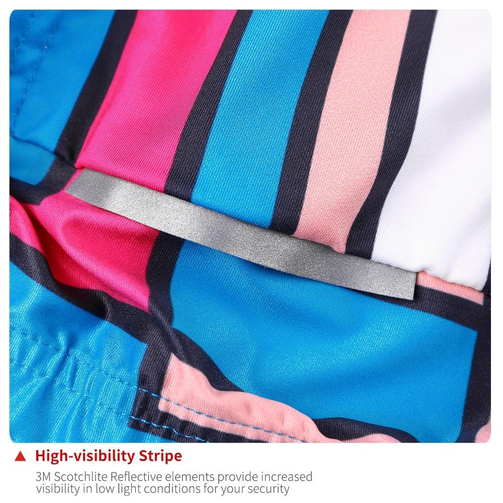 2400fc9115a78 NUCKILY Dámské outdoorové oblečení Jersey na kole s krátkým rukávem ...