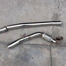 3-дюймовый catless donw трубы для vw mk7 r20 s3