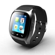 Wasserdichte Smartwatch Mit LED Alitmeter Musik-player mit Zifferblatt SMS Erinnern Pedometer für Samsung Huawei Andriod Telefon