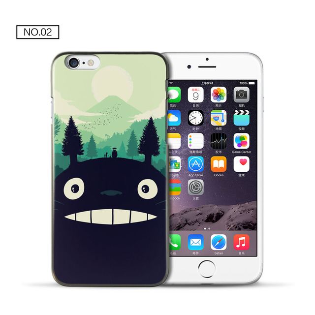 Totoro Hard PC Cover for fundas iPhone