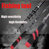 Mini super short sea fishing rod pole carbon rods shrink 40CM pocket that ice fishing rod for cross border