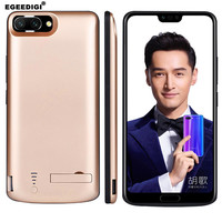 Hot Sale Egeedigi 6500mAh PowerBank Case For Huawei Honor 9 10 V10 V20 External Charging Case Backup Battery Charger Case Cover