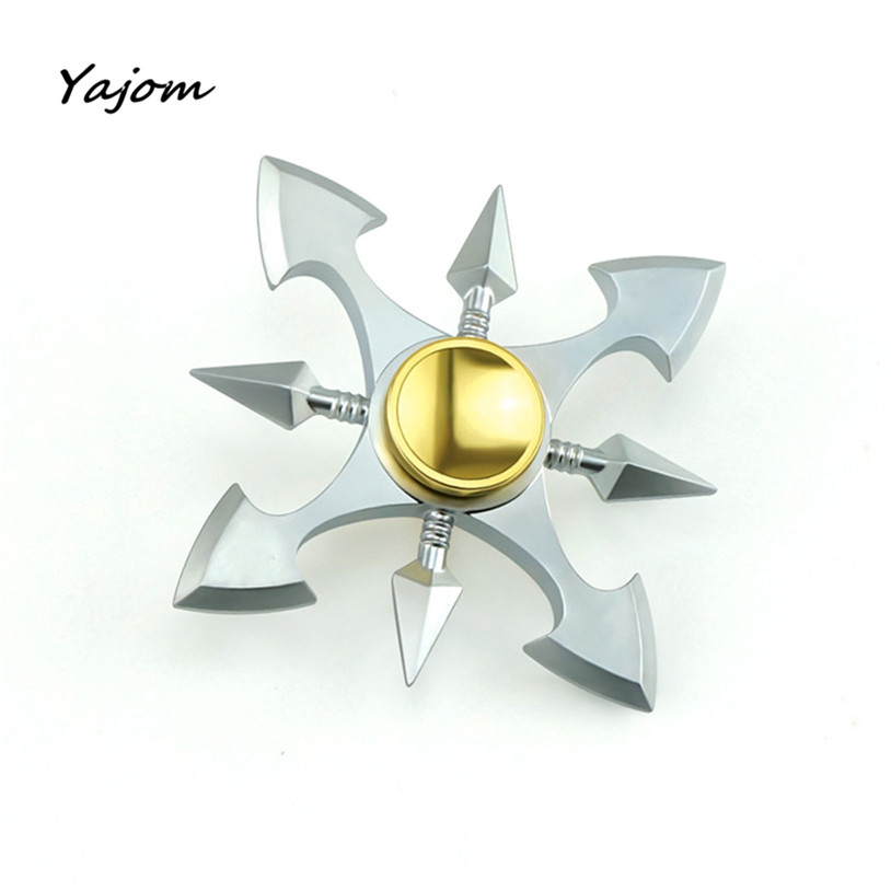 Free for shipping Titanium Alloy Fidget Spinner Blade Pocket Hand Toy Finger Gyro EDC Desktoy Brand