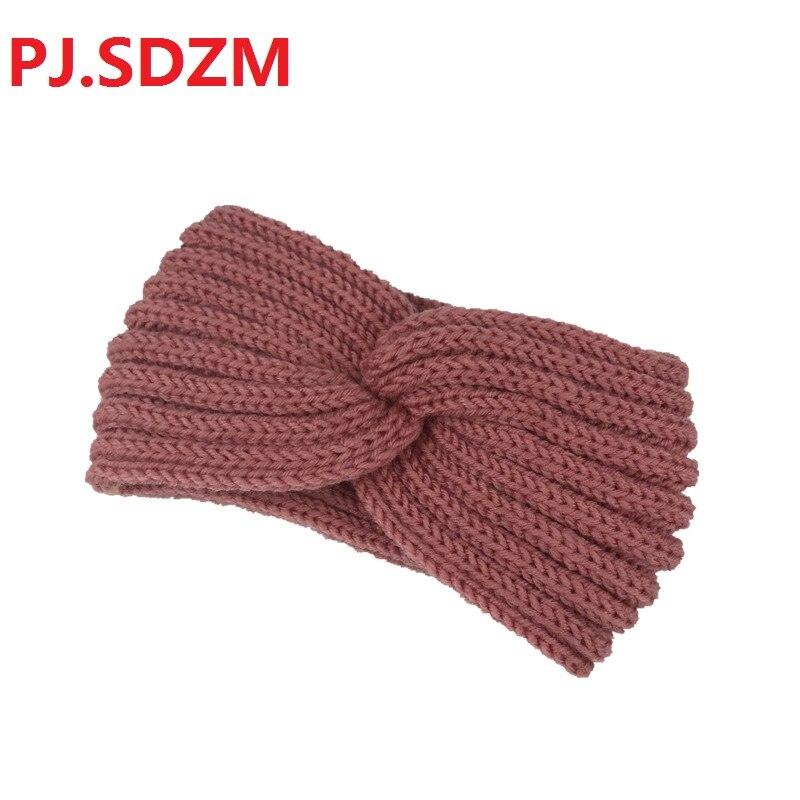Nueva llegada Bowknot mujeres dulce todo el Partido Hairband breve manera cabello Corea mujer invierno cálido punto Hairbands