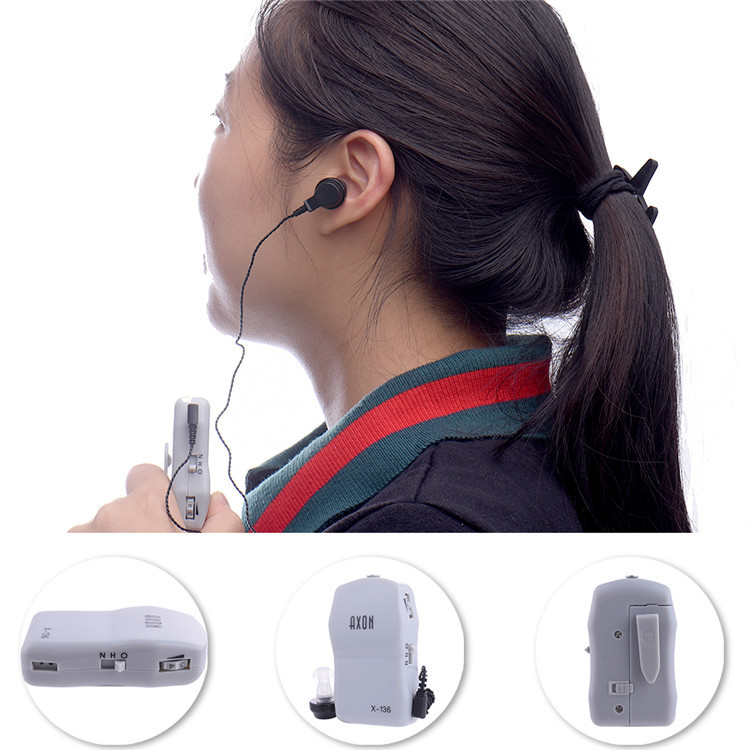 High Power Wired Box Listening Mini Digital Hearing Aid Ear Sound Amplifier Receiver Volume Adjustable Tone Ear Care Tool 7