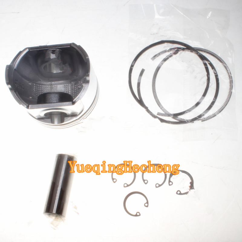 Piston + Piston Rings 115017570 For 400 Series Engines chainsaw piston assy with rings needle bearing fit partner 350 craftsman poulan sm4018 220 260 pp220 husqvarna replacement parts