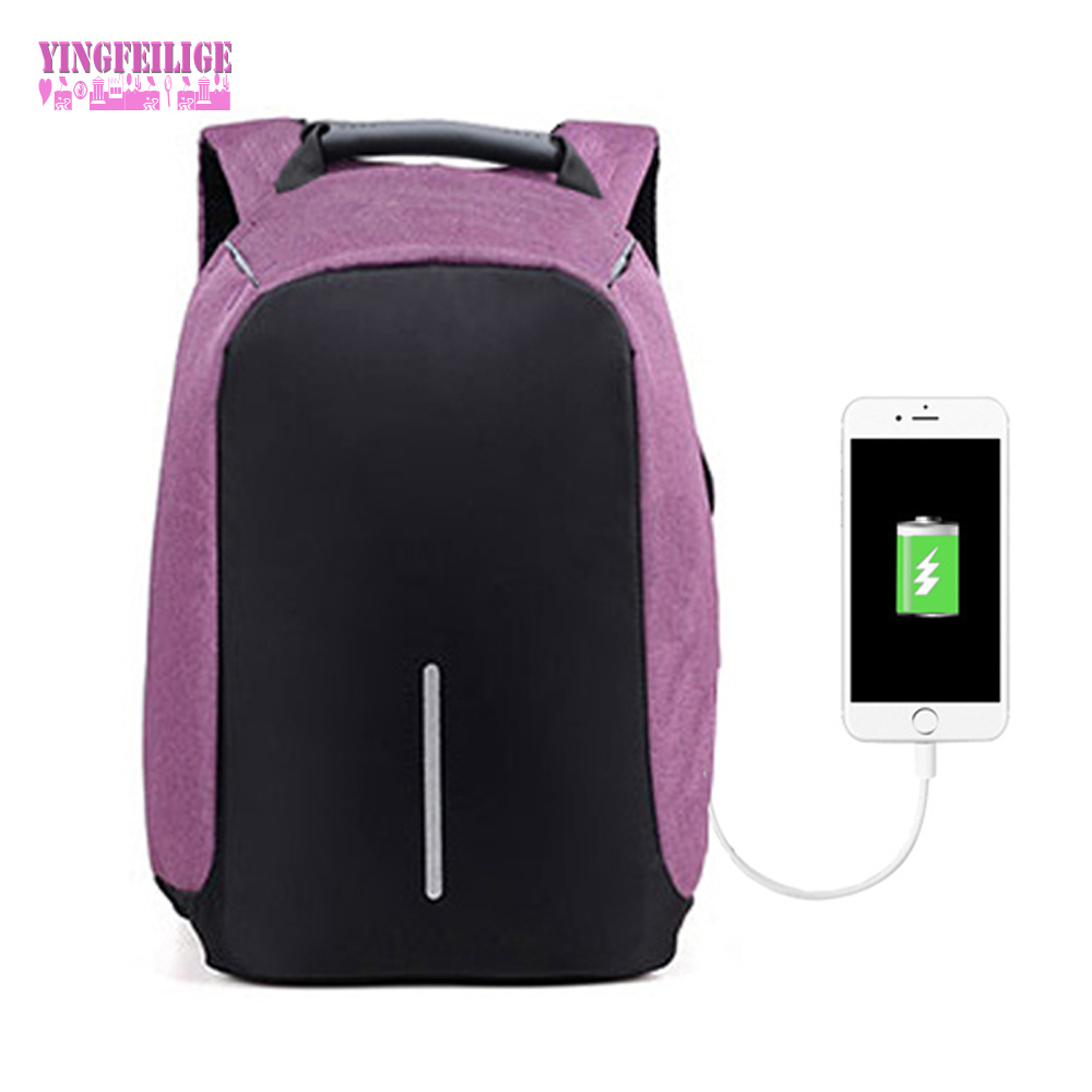 USB Charge Anti Theft Women Backpack Men 15inch Laptop Backpacks Fashion Travel School Bags Female Bagpack For Girls Sac a dos