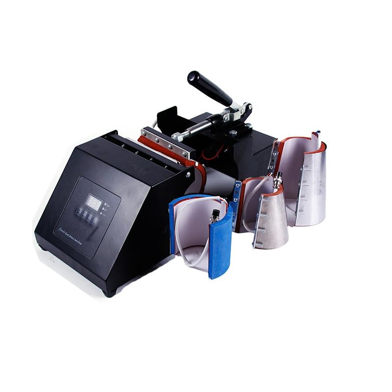 4 In 1 Mug Press Machine Sublimation Printer Heat Press Machine Heat Transfer Mug Printing Machine For Mug Cup 6/11/12/17OZ