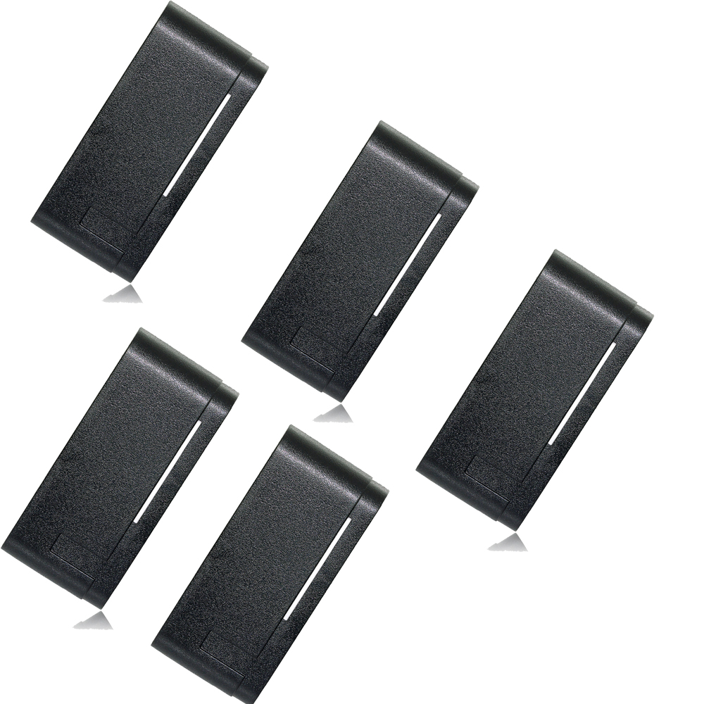 5 pcs TIVDIO Card Reader Waterproof Access Control System For RFID WG26/34 Interface Economic For Home Security F1684A card reader waterproof access control system for rfid wg26 34 interface economic for home f1684a