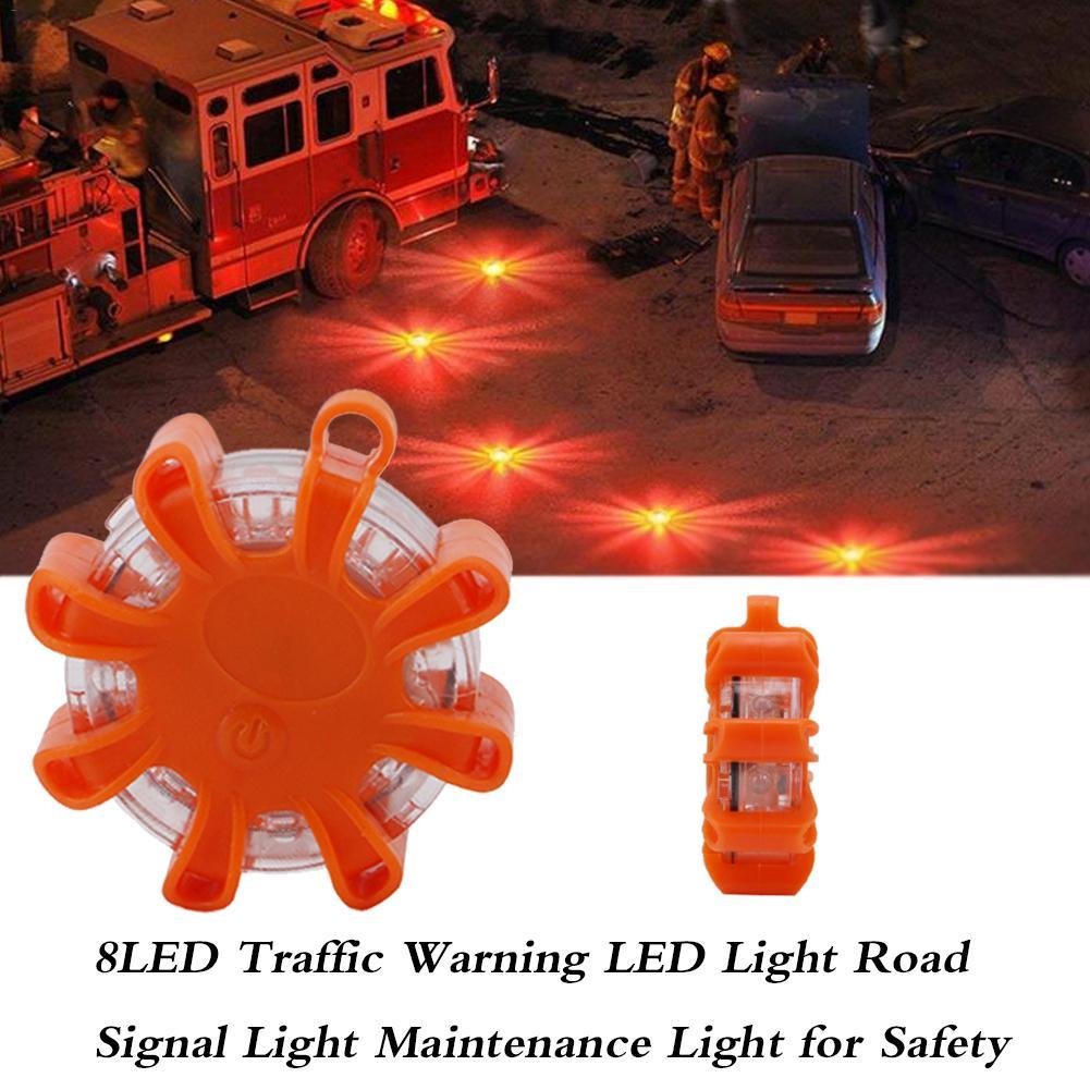 Magnetic Car Road Signal LED Flare Light Flash Emergency Strobe Safety Warning