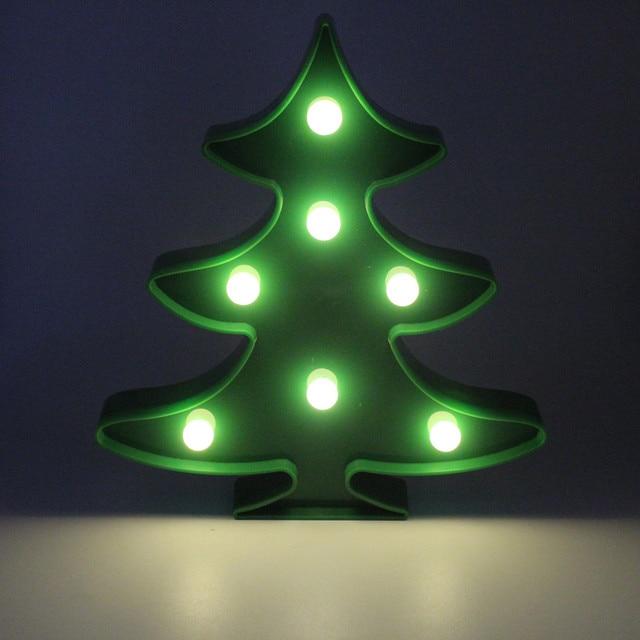 sanhooii christmas tree night lamp 20 22cm house wall led light for