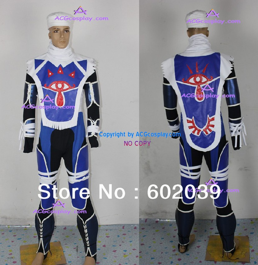 Legend of Zelda Sheik Cosplay Costumes GOOD quality ACGcosplay-in Anime Costumes from Novelty u0026 Special Use on Aliexpress.com | Alibaba Group  sc 1 st  AliExpress.com & Legend of Zelda Sheik Cosplay Costumes GOOD quality ACGcosplay-in ...
