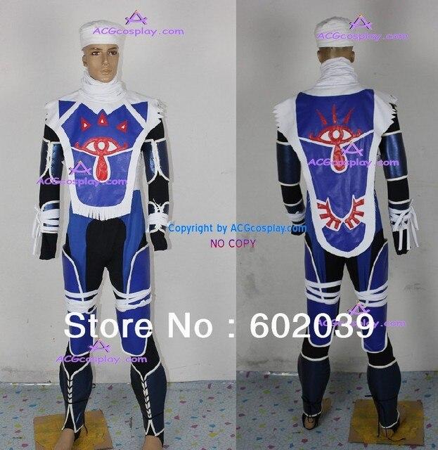 Legend Of Zelda Sheik Cosplay Costumes Good Quality Acgcosplay In