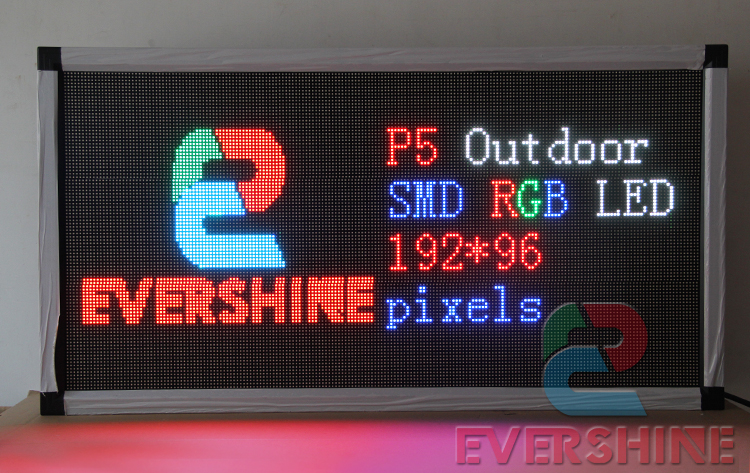 Factory Direct Supply High Quality RGB Outdoor P5 LED Display Window Sign Size 41.3 x 21.6 x 3For Shop, Hair Saloo, Hotel hd high quality led gas price display sign outdoor led billboard green color 12 outdoor led display screen