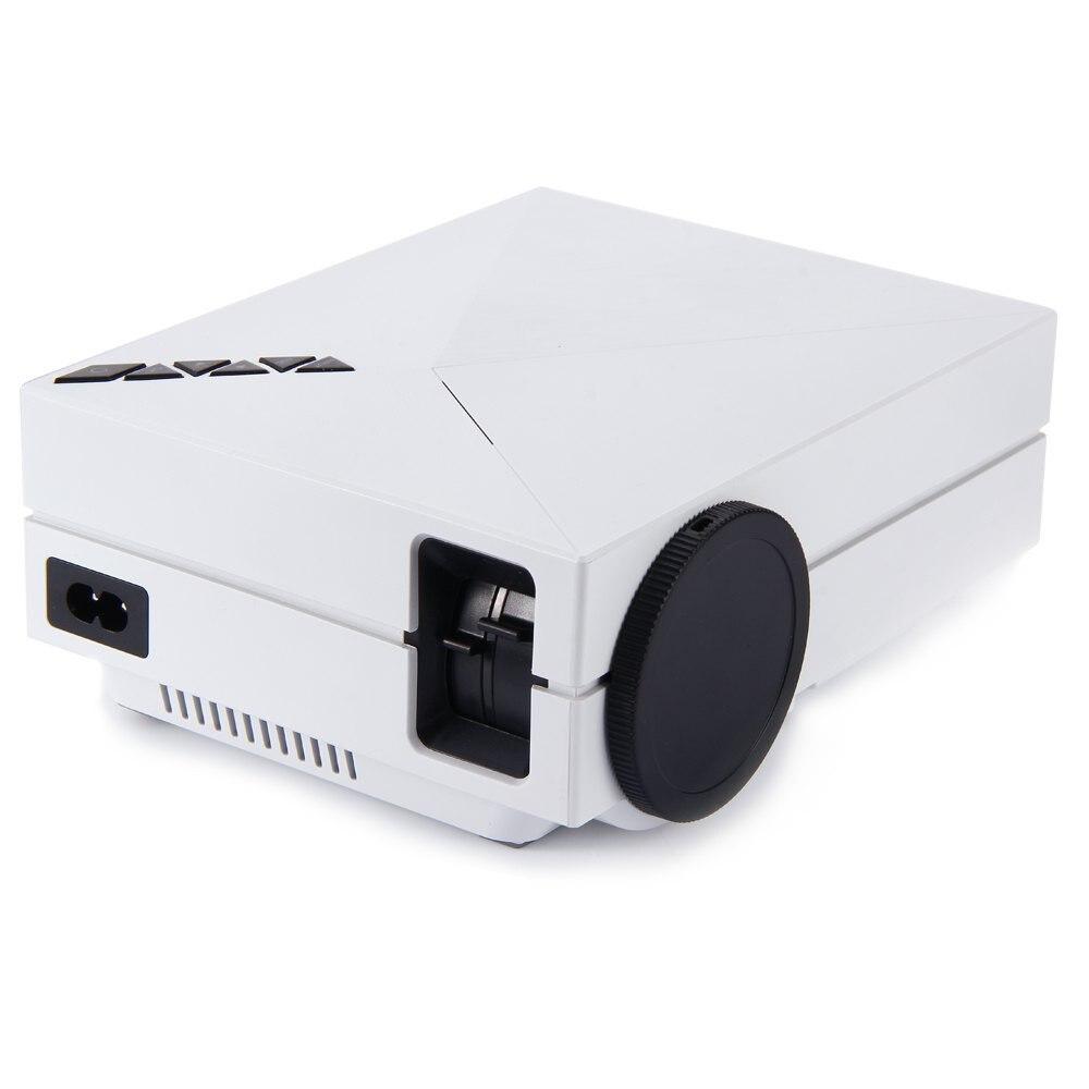 GM60 3D Projector HD 1000 Lumens TV BOX Projector Support KODI AC3 LED TV MINI Home theater projectors Beamer White/Black
