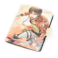 Japan Anime Attack on Titan Shingeki no Kyojin Cartoon Short Wallet Bifold Card Holders Purse Money Bag for Kids