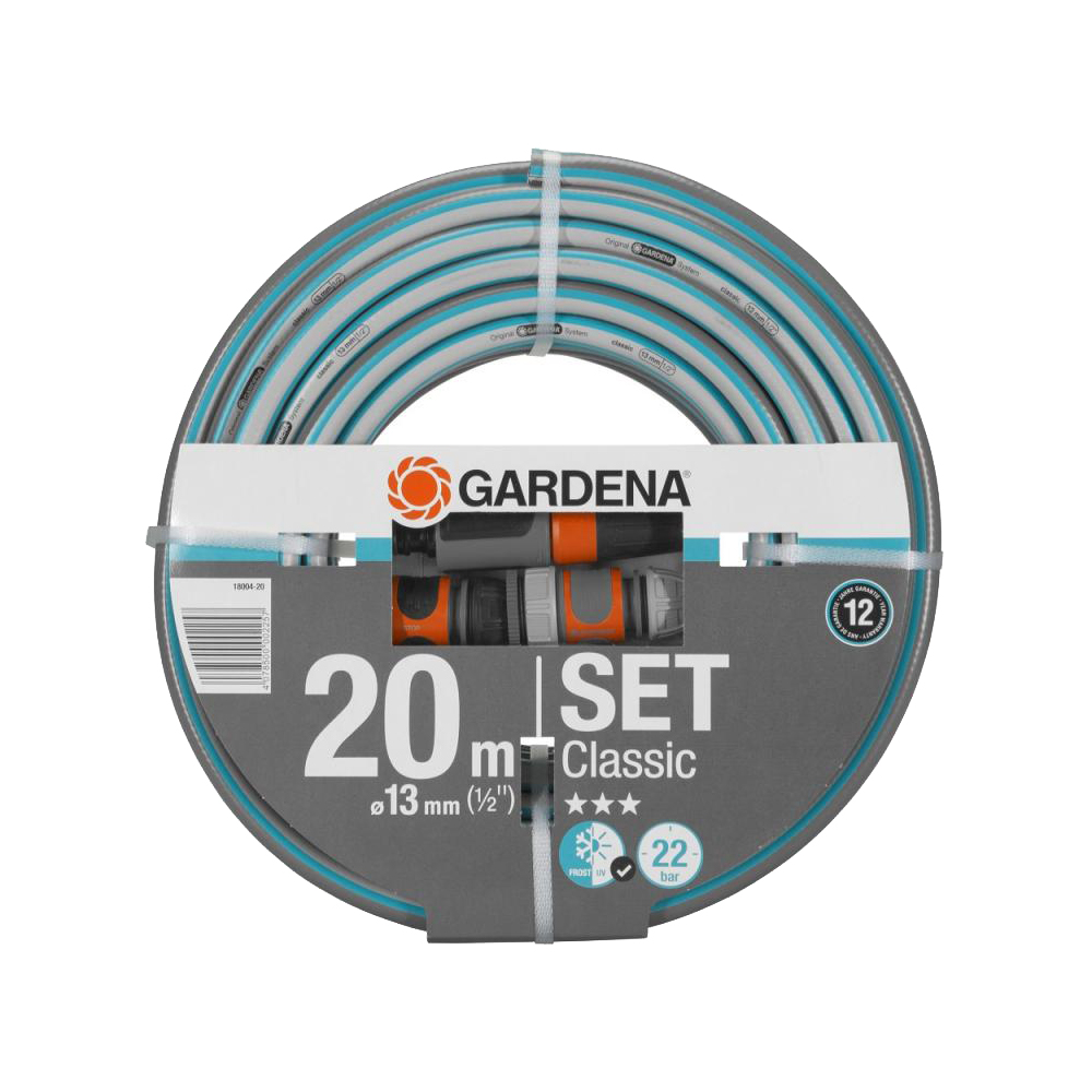 Hose GARDENA Classic 13 mm Home & Garden Garden Supplies Watering & Irrigation Garden Hoses & Reels brand new 1 5 male thread pipe fittings x 40 mm barb hose tail connector stainless steel ss304high quality