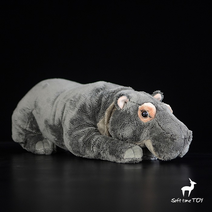 Africa Big Hippo Doll Plush Toy Super Soft Hippos Dolls Toys Children Gifts Pillow