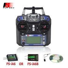 Радиочастотный контроллер Flysky FS i6 FS I6, приемник для дистанционного управления квадрокоптером, 2.4G, экран 6