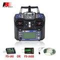 Fs flysky fs-i6 fs-ia6 ou fs-ia6b i6 2.4g 6ch rc controlador do transmissor receptor para rc helicóptero quadcopter avião planador zangão