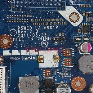 Image 3 - PAILIANG Máy Tính Xách Tay bo mạch chủ cho ACER Aspire 5750 5750 gam 5755 5755 gam PC Mainboard P5WE0 LA 6901P tesed DDR3