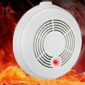 Со Детектор Угарного газа и Дыма Высокочувствительный Пожарный Датчик для Охраны Дома Комбинация 2 в 1