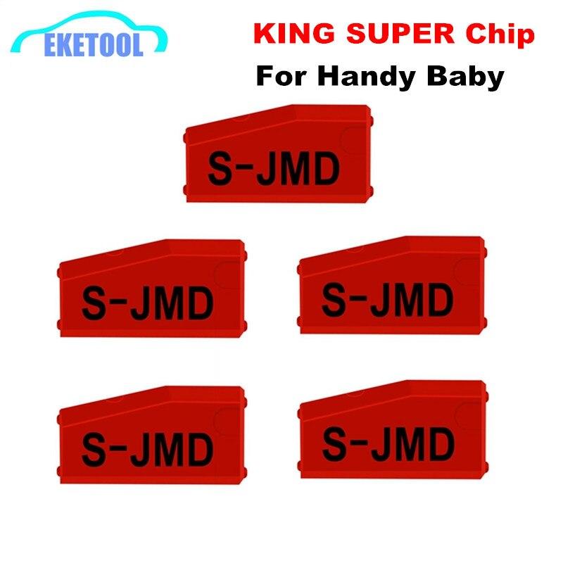 JMD 5 pçs/lote Atacado Handy Baby Copiadora Chave Vermelho Super King Ugrade JMD Chip para CBAY JMD 46/48 /4C/4D/G Chip 100% Original