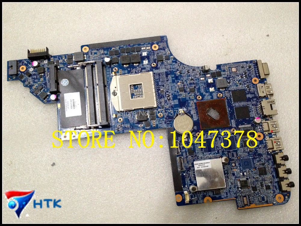 ФОТО Wholesale 659147-001 board for HP pavilion DV6 DV6-6000 laptop motherboard with  chipset HD6490/1G DUO 100% Work Perfect