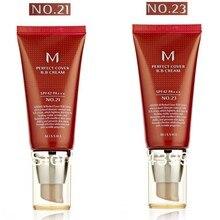 Hot100% импорт из корейская косметика MISSHA идеальное покрытие#21+#23 BB крем SPF42 50 мл с коробкой крем для лица