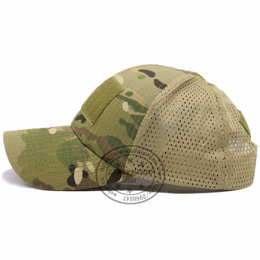 LIBERWOOD ACU Multicam Operator Hat Special Force Camo Mesh Cap Airsoft Hat  for Men Tactical Contractor Army Baseball caps Hat -in Baseball Caps from  ... 4e99a371e5c