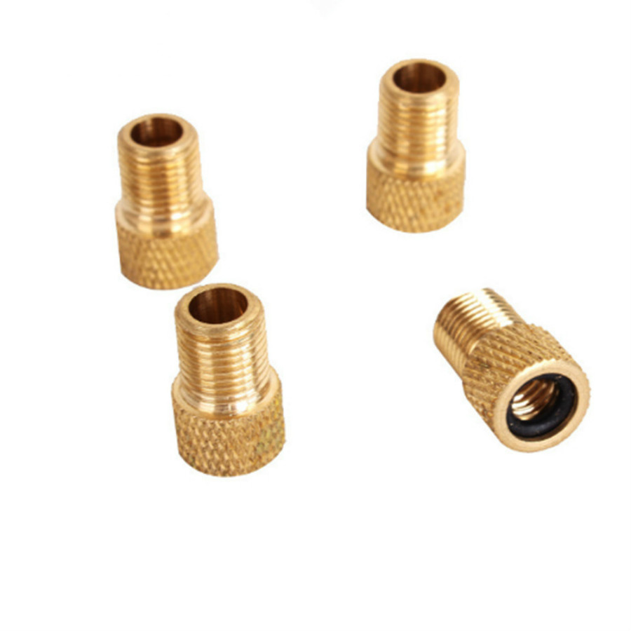 4pcs/lots 2017 new product Presta To Schrader Valve Adapter Converter Bike Bicycle Cycle Pump Tube free shipping