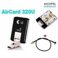 Lot of 2pcs Genuine Unlocked 100Mbps Wireless WIFI 4G Modem 320U LTE WCDMA Wireless USB Dongle Network