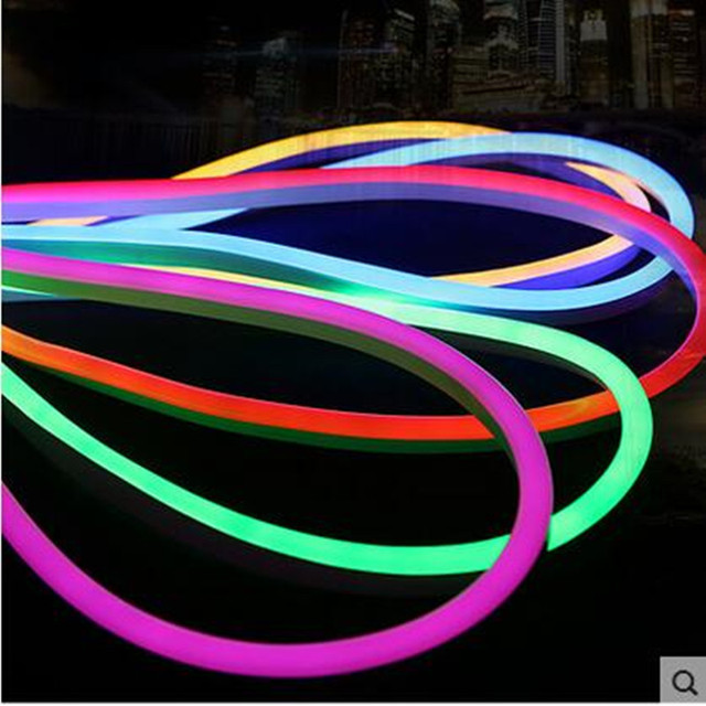 High quality led flexible neon rope light waterproof led neon tape high quality led flexible neon rope light waterproof led neon tape strip light rgbwarm mozeypictures Image collections