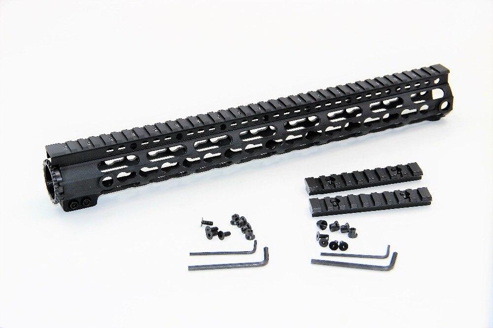 Rail Quad en aluminium léger de 15