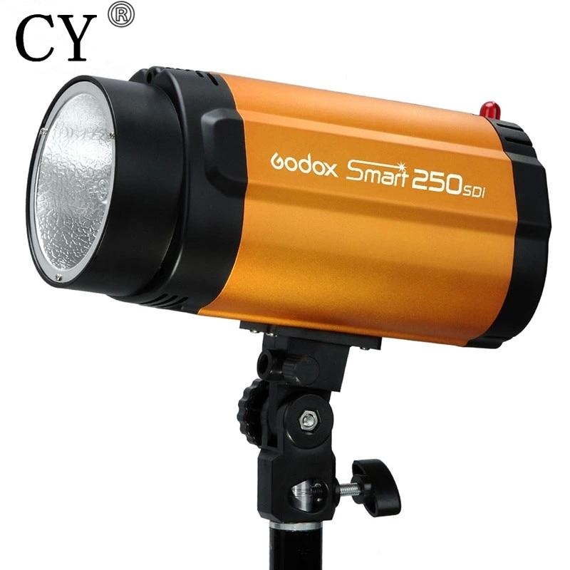 250w 110v Godox Smart 250SDI Photography Studio Mini Strobe Flash Light Photo Studio Photographic Lighting High Quality