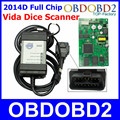 Full Chip For VOLVO VIDA DICE 2014D Dice Pro OBDII Car Diagnostic Tool Supports J2534 Protocol Firmware Update Self Test