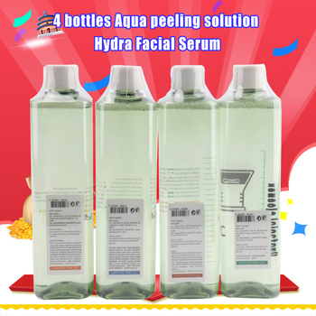 Newest !!! 4 bottles Aqua peeling solution per bottle aqua facial serum hydra facial serum for normal skin