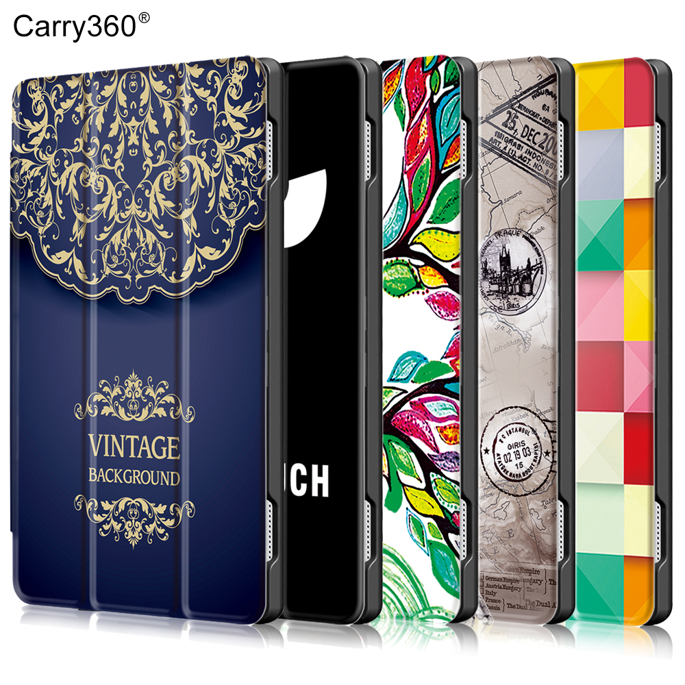 Case for Lenovo Tab 4 10 TB-X304L TB-X304F TB-X304N, Carry360 Color Print Wake Sleep PU Leather Cover for Lenovo Tab4 10 Case чехол для lenovo tab 4 10 1 tb x304l tb x304f g case executive темно синий