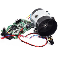 12V Car Auto Electric turbine power Turbo charger Tan Boost Air Intake Fan Novel